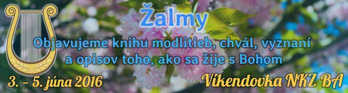 Jarn� v�kendovka zboru NKZ BA v term�ne od 3.6.2016 do 5.6.2016.
