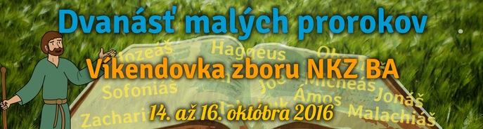 Jesenn� v�kendovka zboru NKZ BA v term�ne od 14.10.2016 do 16.10.2016.