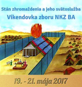 Jarná víkendovka cirkvi NKZ BA sa udeje od 19.5.2017 do 21.5.2017